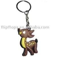 3D soft PVC keychain,lovely pvc keychains,rubber key chain