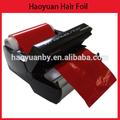 nuevo estilo de peluquería rollo de aluminio papel de aluminio de la ondulación permanente 20 micras y herramientas