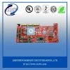 printed circuit board with red solder mask pcb