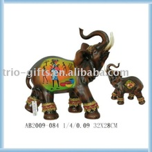 Plystone elephant home decoration
