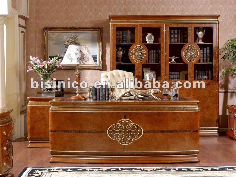 ... legno per la casa classica mobili del ufficio set, moq: 1set( b66023