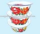 bowl,enamelware, dinner set
