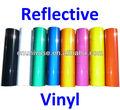 Reflective vinyl rolo