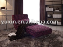 purple lounge Sofa/Fashionable style chaise