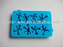 Novelty Design silicone ice cube tray