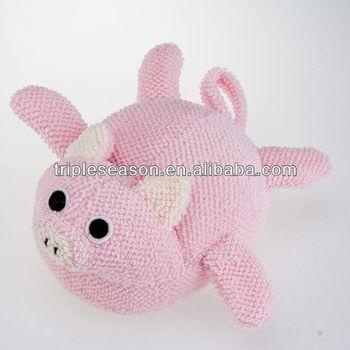 pig shaped bath sponge