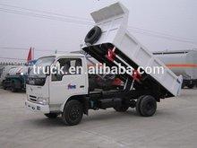 4*2 used light sinotruk howo dump truck