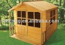 wooden log cabin