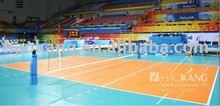 Volleyball sports flooring