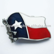 Belt Buckle (Texas Flag)