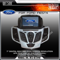WITSON Special Car DVD Player For FORD FIESTA with Built-in GPS Car DVD Player FORD FIESTA DOUBLE DIN
