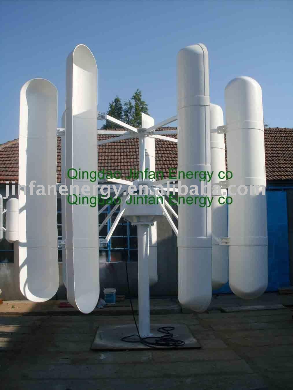 Residential VAWT On-GIRD 10kW, View wind turbine, Jinfan Product ...