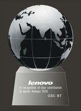 glass earth ball crystal globe