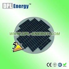 DPL-5P 5W round solar panel