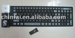 Wireless Flexible Silicone keyboard