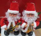 2012 New year electric christmas santa