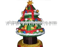 2011 inflatable snowing christmas tree