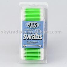 plastic stick cotton bubs