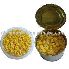 Canned Sweet Corn (canned vacuum sweet corn kernal)