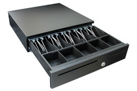 black color metal cheap cash drawer (GS-405)