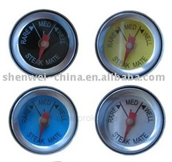 mini cooking Barbecue Thermometer sensors household stainless steel