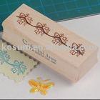 kids wooden rubber ink stamp