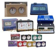 digital chess clock Analog chess clock Quartz chess clock