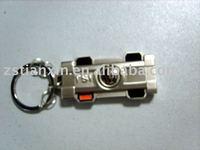 F1 car keychain holder /nice F1 race car keyring key ring /metal car key chain key tag