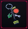Hot selling fashion custom key chain metal Keychain promotion keychain