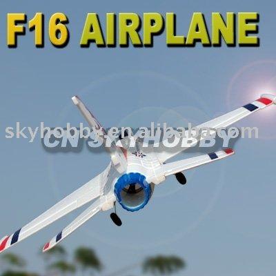 f 16 fighter. F-16 Fighter Foam Jet White