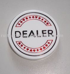 dealer button dealer button sets casino button poker chip poker table playing cards casino accessories raffle drum poker sets