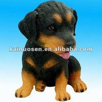cartoon polyresin/resin dog bobble head