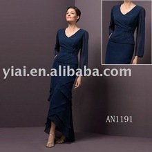 2013 Formal Long Sleeve Chiffon Mother of the Bride Dress AN1191