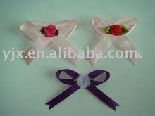 satin ribbon bow ,rosette bow,underwear bow