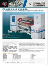 FR-808 super clear packing tape slitting rewinding machine/super clear tape slitter