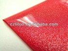 RED METALLIC COLOR PVC decorative film FOR KITCHEN CABINET