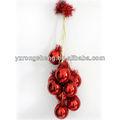 de plástico de gran manojo de uva artesanías para la decoración de la tienda