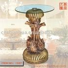 Resin Elephant Tea Table Traft