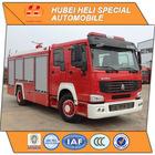Water tank fire truck,sinotruk 266hp 4x4 drive