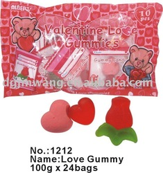 Valentine Gummy bag100g