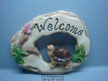 cerment garden welcome board