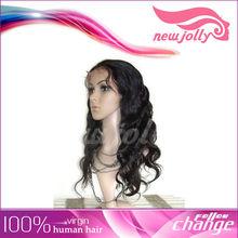 Compound fiber long wavy hair wigs