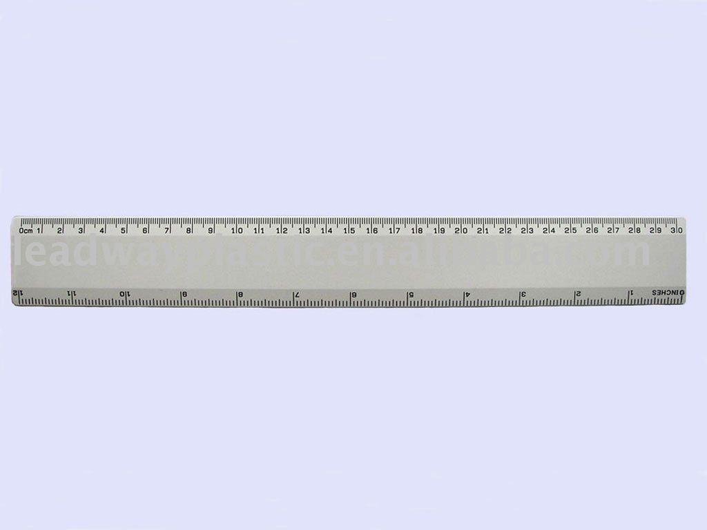Promotional 12 39 30cm straight plastic ruler view ruler for Garderobe 30 cm