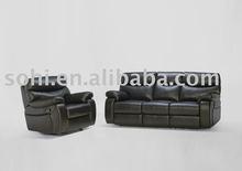 home leisure recliner sofa set