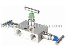 in-line three valve manifolds,instrument manifolds
