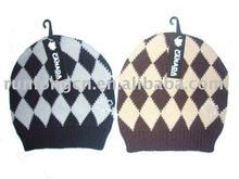 2014 fashion jacquard cute baby hat crochet pattern