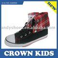 caliente venta de nuevos de alta corte vulcanizado zapatos de lona