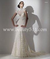 very beautiful elie saab hot sale wedding dress,bridal gown WDAH0096