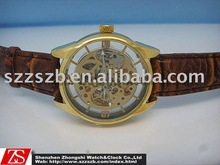 Automatic hollow out mechanical men's watch
