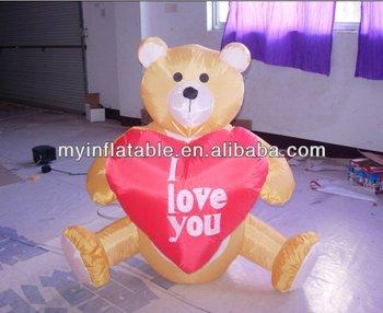 Valentine Bear decoration